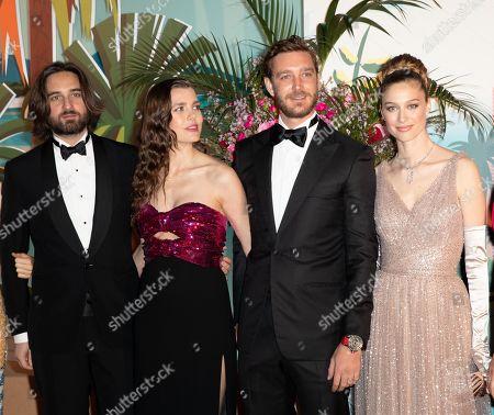 Dimitri Rassam, Charlotte Casiraghi, Pierre Casiraghi and Wife