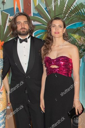 Mademoiselle Charlotte Casiraghi and Dimitri Rassam