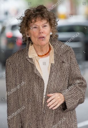 Kate Hoey MP arrives at the BBC Studios.