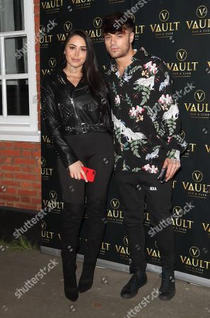 Stock Photo of Marnie Simpson and Casey Johnson
