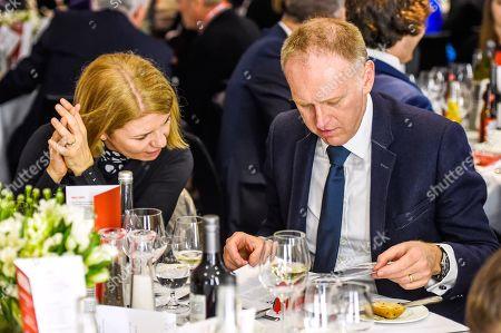Mind C.E.O Paul Farmer Enjoys the Hospitality in the Bobby Moore Suite