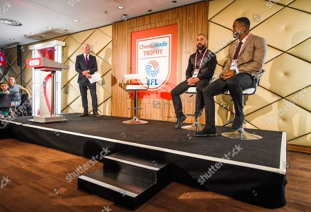Jim White Q and A with Kevin Phillips and Sylvain Distin