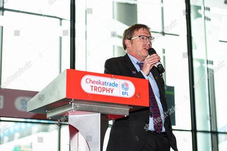 Editorial image of Portsmouth v Sunderland, EFL Checkatrade Trophy Final, Football, Wembley Stadium, London, UK - 31 Mar 2019