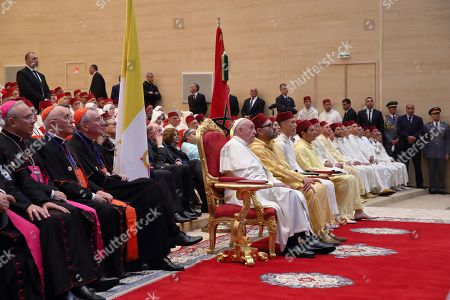 Pope Francis ' visit to the King Mohammed VI Institute for the Training of Imams, Morchidines and Morchidates