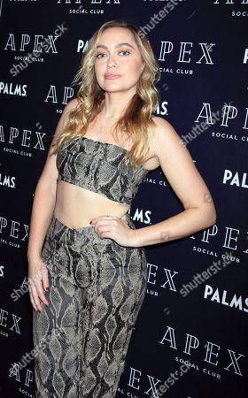 Editorial photo of Brandi Cyrus hosts at the Apex Social Club, Las Vegas, USA - 30 Mar 2019