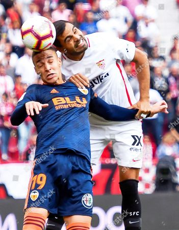 Editorial picture of Sevilla FC vs Valencia CF, Seville, Spain - 31 Mar 2019