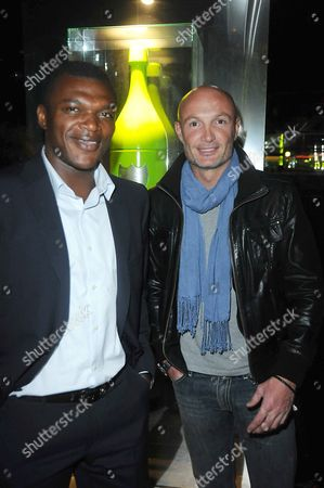 Marcel Desailly and Franck Leboeuf