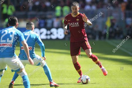 Editorial photo of AS Roma vs SSC Napoli, Rome, Italy - 31 Mar 2019