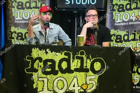 Editorial image of Simple Creatures visit Radio 104.5, Bala Cynwyd, Pennsylvania, USA - 31 Mar 2019