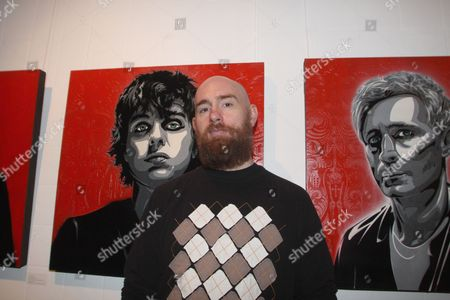 Editorial image of 21st Century Breakdown - The Art of Rock private view at Stolen Space Gallery, London, Britain - 22 Oct 2009