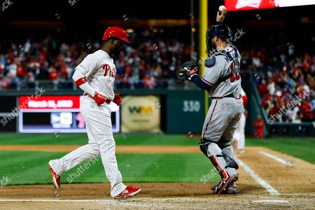 Editorial picture of Braves Phillies Baseball, Philadelphia, USA - 31 Mar 2019