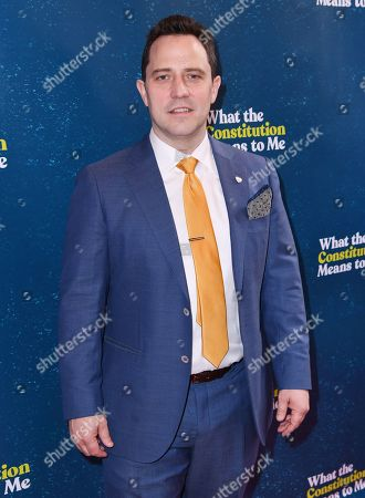 Editorial image of 'What The Constitution Means To Me' Opening Night, Arrivals, New York, USA - 31 Mar 2019