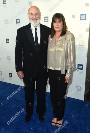 Michele Singer Reiner, Rob Reiner. Michele Singer Reiner and Rob Reiner attend the 2019 Human Rights Campaign Los Angeles Dinner at the JW Marriott LA LIVE on