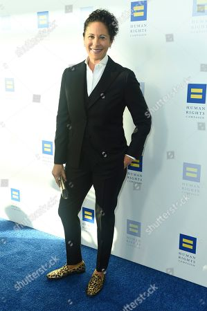 Dana Goldberg attends the 2019 Human Rights Campaign Los Angeles Dinner at the JW Marriott LA LIVE on