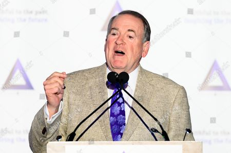 Stock Image of Former Arkansas Governor Mike Huckabee