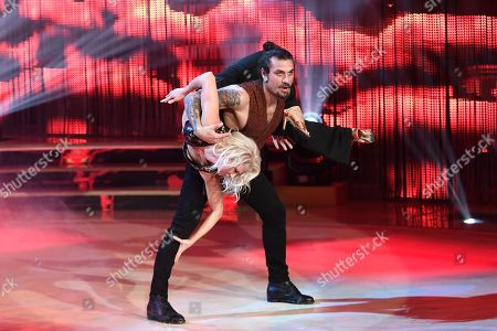 Dani Osvaldo and dancer Veera Kinnunen
