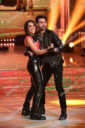 Italian politician Nunzia De Girolamo and dancer Raimondo Todaro