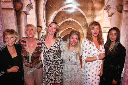 Veronique Jeannot, Dominique Serra, Kiera Chaplin, Sophie Tapis, Julie Ferrier, Aurelie Konate