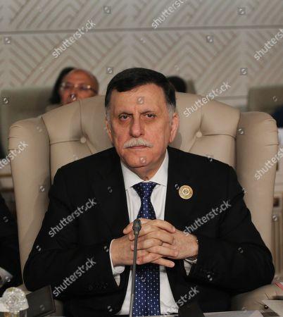 Libyan unity government Prime Minister Fayez al-Sarraj