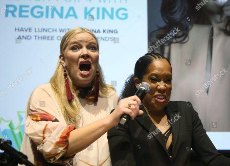 Regina King, Melissa Peterman
