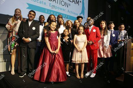 Regina King, Melissa Peterman, I Have A Dream Foundation students