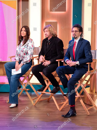 Stock Photo of Lisa Snowdon, Nicky Clarke and Armand Beasley