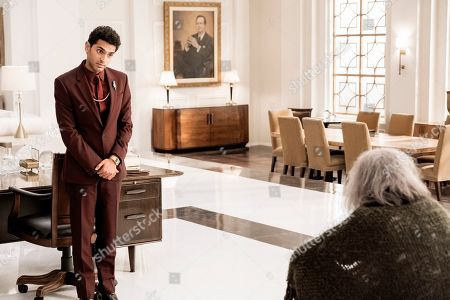 Karan Soni as Sanjay and Steve Buscemi as God