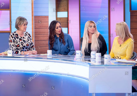 Ruth Langsford, Rebecca Ferguson, Katie Price, Amy Price