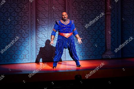 Editorial image of Aladdin's 5th Anniversary on Broadway, New York, USA - 31 Mar 2019