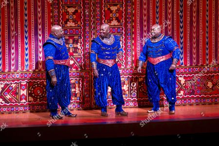 Editorial picture of Aladdin's 5th Anniversary on Broadway, New York, USA - 31 Mar 2019