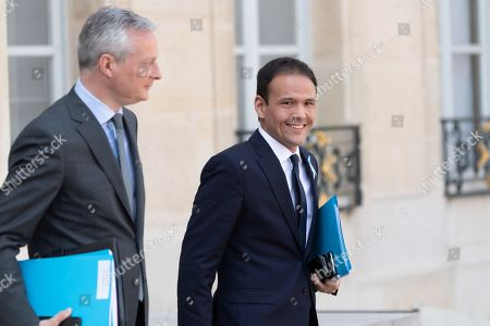 Bruno Le Maire, French Economy Minister and Cedric O, French Junior Economy Minister in Charge of Digital
