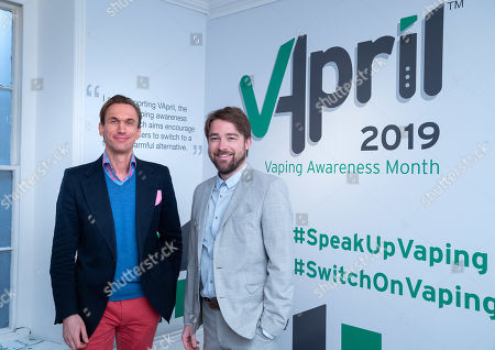 Dr Christian Jessen and Dan Thomson of JUUL