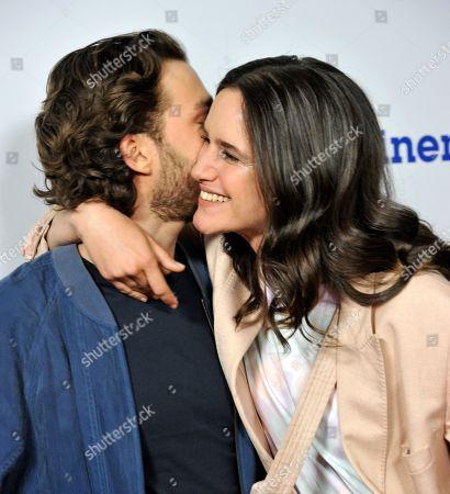 Stock Photo of Valentina Belle and Lorenzo Richelmy