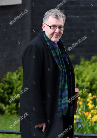 David Mundell, Scottish Secretary, leaves No.10 Downing Street after a 7 hour cabinet meeting