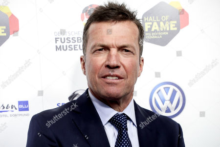 German former soccer player Lothar Matthaeus arrives for the opening gala of the 'Hall Of Fame' of German football in Dortmund, Germany, 01 April 2019. The Hall Of Fame will be part of the permanent exhibition in the German Football Museum, where players and coaches of men's and women's soccer of German origin will be honored for their outstanding achievements in shaping German soccer from 1900 until today.