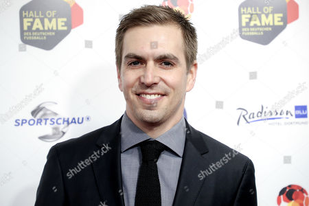 German former soccer player Philipp Lahm arrives for the opening gala of the 'Hall Of Fame' of German football in Dortmund, Germany, 01 April 2019. The Hall Of Fame will be part of the permanent exhibition in the German Football Museum, where players and coaches of men's and women's soccer of German origin will be honored for their outstanding achievements in shaping German soccer from 1900 until today.