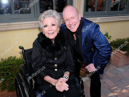Stock Photo of Mitzi Gaynor and Kevin Goetz