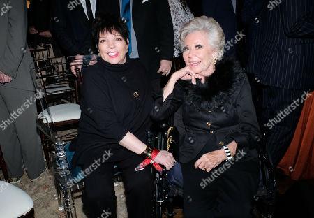 Mitzi Gaynor and Liza Minnelli