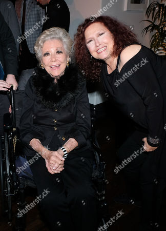 Stock Photo of Mitzi Gaynor and Melissa Manchester