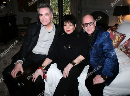 Neil Goetz, Liza Minnelli, Kevin Goetz