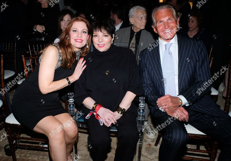 Rachel York, Liza Minnelli and George Hamilton