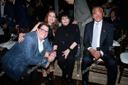 Ayal Miodovnik, Rachel York, Liza Minnelli and George Hamilton