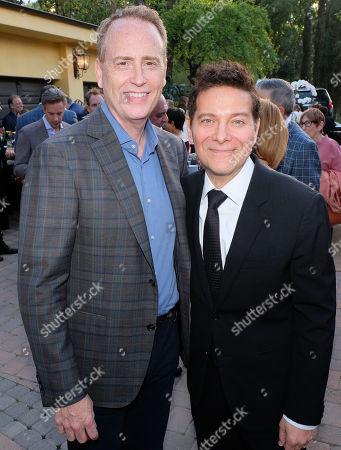 Bob Greenblatt and Michael Feinstein