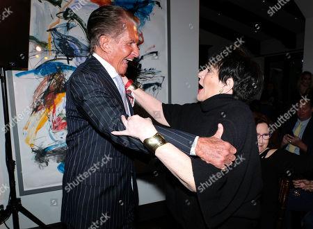 George Hamilton, Liza Minnelli