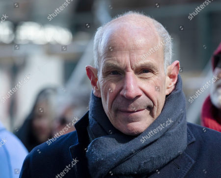 Stock Photo of Jonathan Tisch, the co-chairman of the board of Loews Corporation, attends the dedication ceremony for The Shed, a performing arts center at New York's Hudson Yards