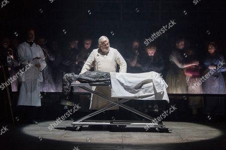 Alan Opie as The Pathologist