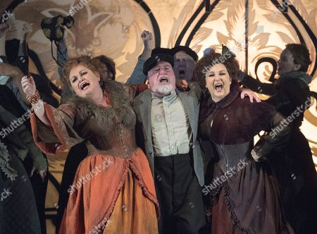 Editorial photo of 'Jack the Ripper: The Women of Whitechapel' Opera by Iain Bell performed by English National Opera at the London Coliseum, UK, 28 Mar 2019