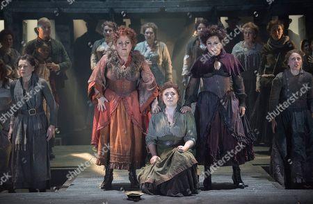 Susan Bullock as Liz Stride, Natalya Romaniw as Mary Kelly, Lesley Garrett as Catherine Eddowes