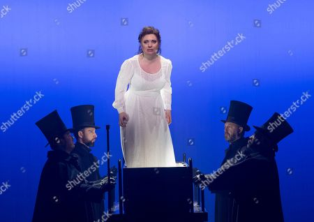 Editorial picture of 'Jack the Ripper: The Women of Whitechapel' Opera by Iain Bell performed by English National Opera at the London Coliseum, UK, 28 Mar 2019