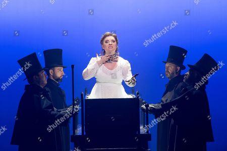 Stock Image of Natalya Romaniw as Mary Kelly